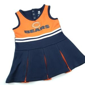 NFL Chicago Bears Cheerleader dress outfit sz 18m